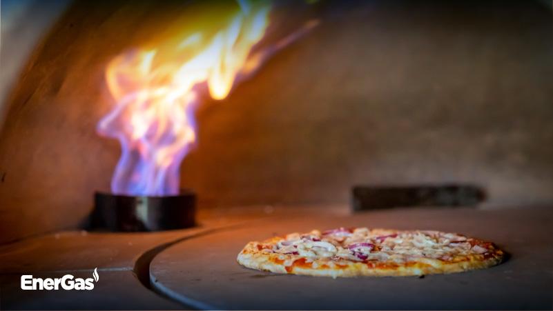 Forno per pizza a gas