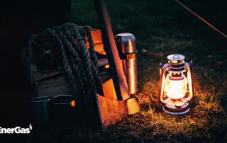 lampada a gas